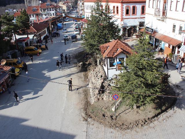 Şehir meydanında yeni düzenleme